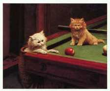 """Snookered"" by George Hughes (click to enlarge)"