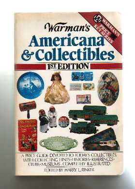 """Warman's Americana and Collectibles"" [1984] (click to enlarge)"